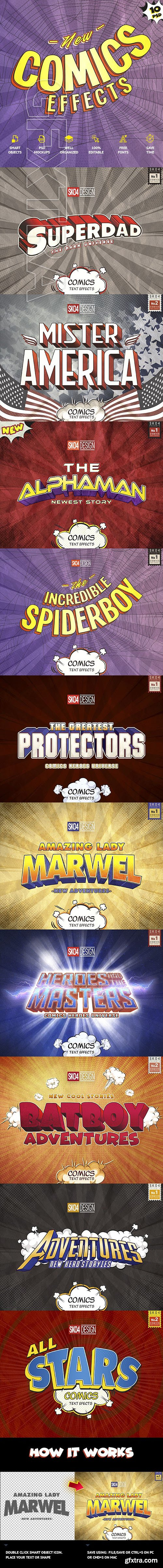 GraphicRiver - Comics Text Effects 23918244
