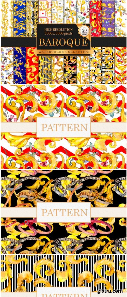 Patterns Watercolor Png 1485305