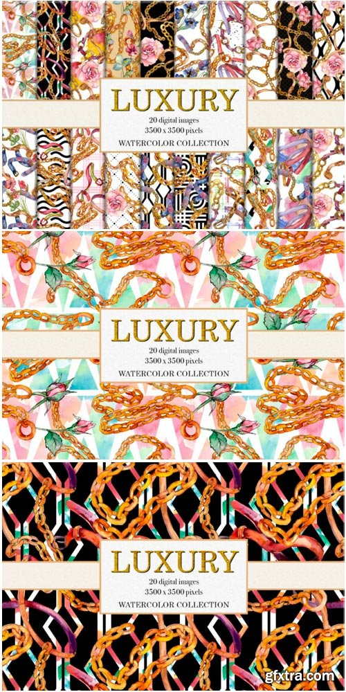 Luxury Watercolor Collection 1485310