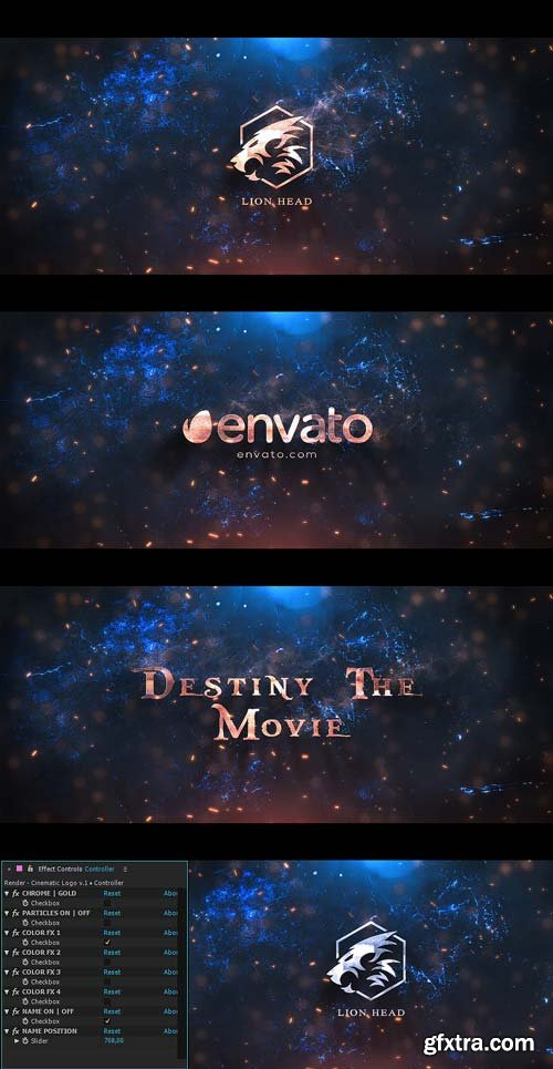 Videohive - Cinematic Logo - 21990312