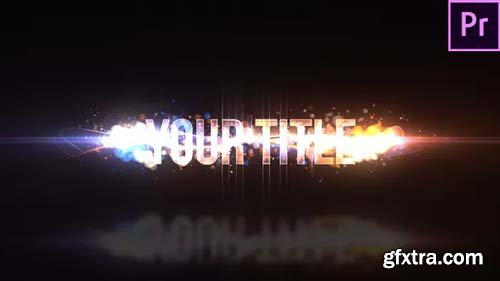 Videohive - Particle Swish Title - 23456945