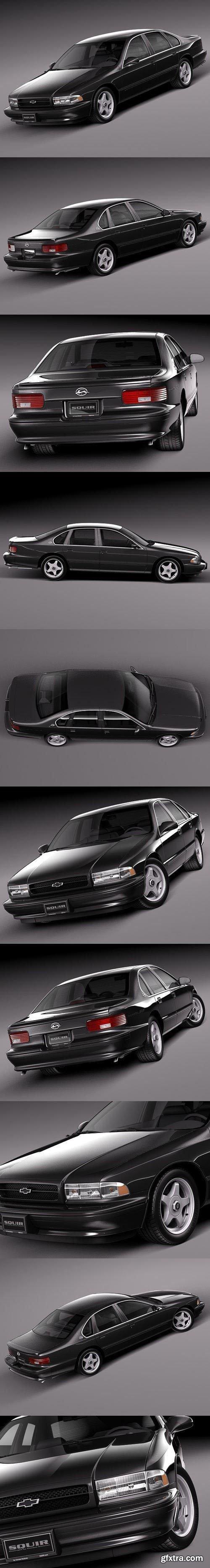 Chevrolet Impala SS 1994-1996 3D Model