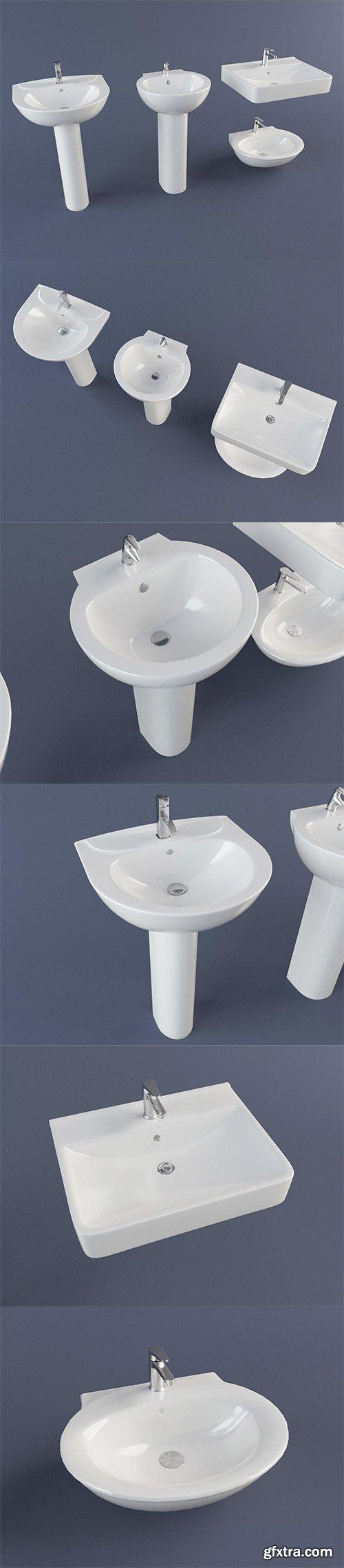 Cgtrader - Sink Pack 3D model