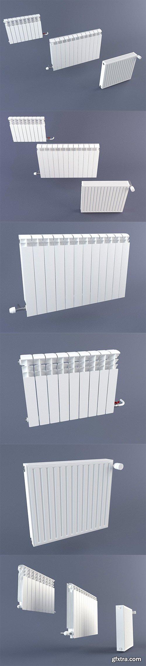 Cgtrader - Radiator Pack 3D model