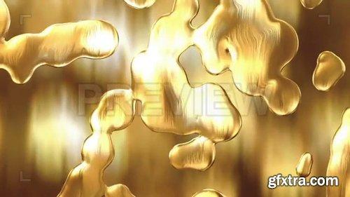 Liquid Gold Background Loop 247867