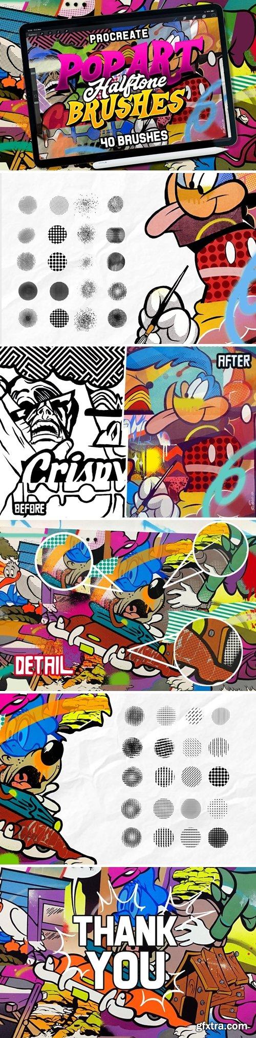 CM - POP ART BRUSHES KIT FOR PROCREATE 3373755