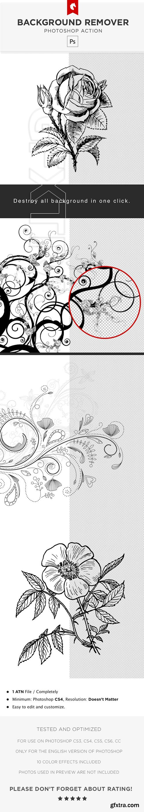 GraphicRiver - White Background Remover - Photoshop Action 23806062