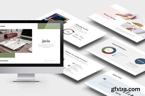 Javio : Business Proposal Keynote Template