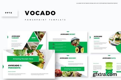 Vocado - Powerpoint, Keynote and Google Slides Templates