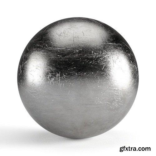 Scratched Aluminum