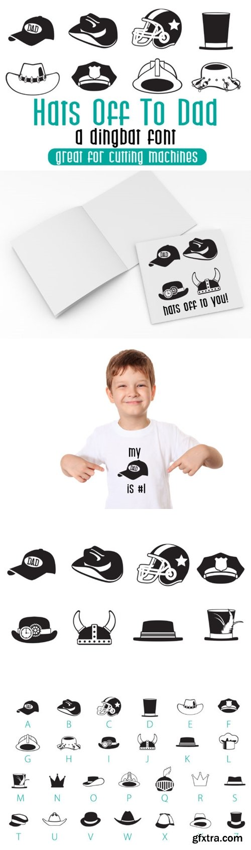 Hats off to Dad Font