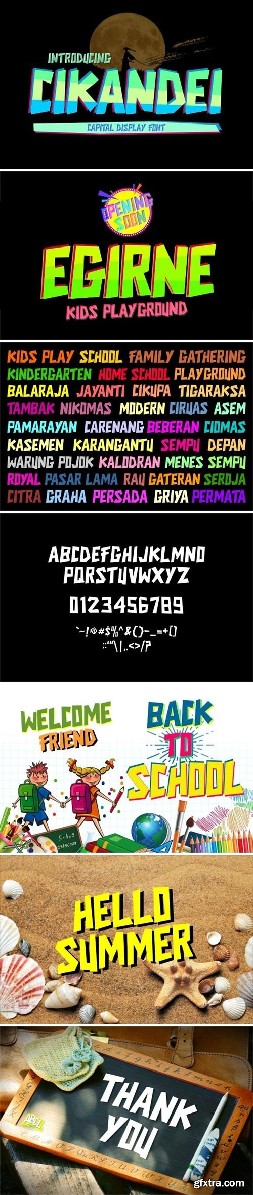 Cikandei Font