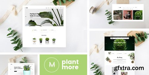 ThemeForest - Plantmore v1.0 - OpenCart Theme (Included Color Swatches) - 23973097
