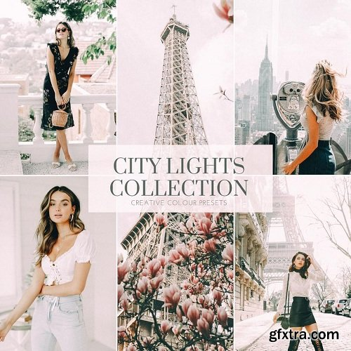 Creative Colour Presets - CITY LIGHTS - PHOTOGRAPHY PRESETS