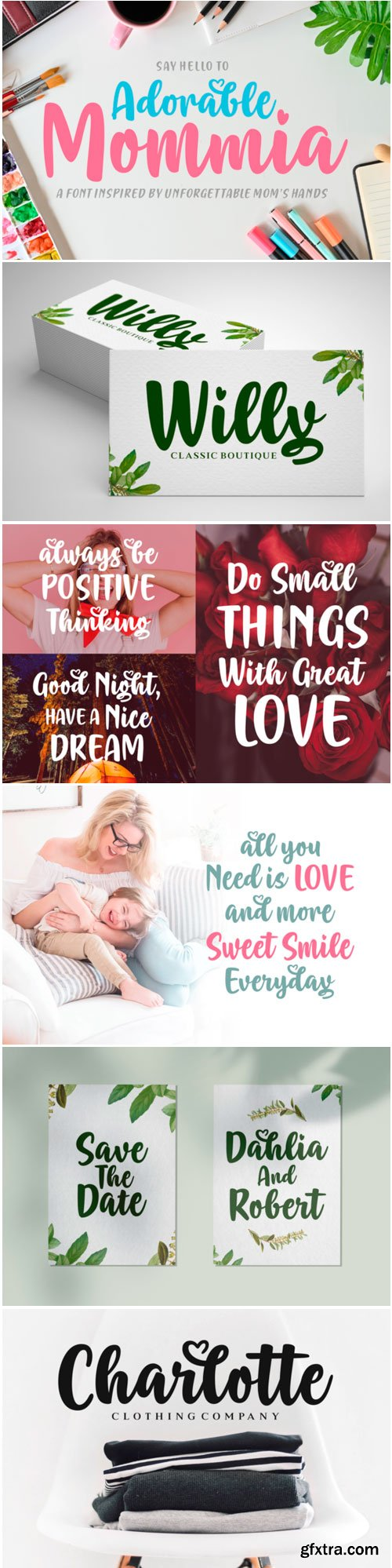 Adorable Mommia Font