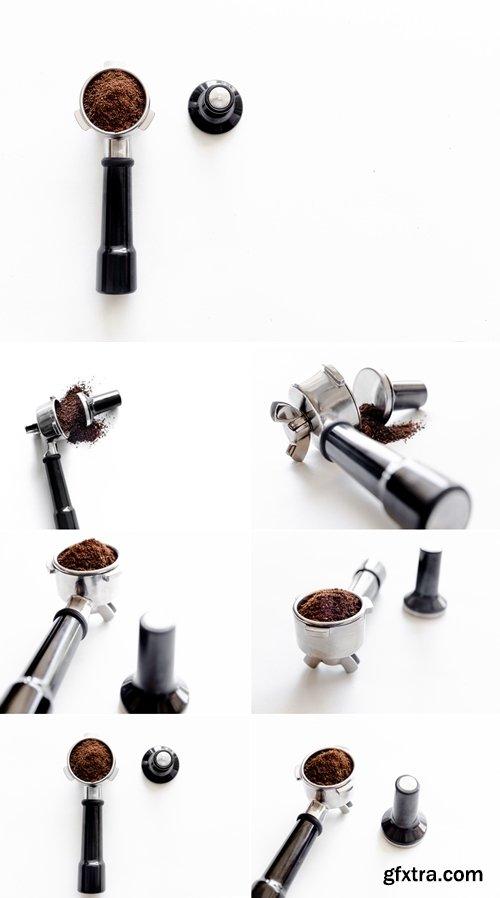 Stock Photos - Making Espresso