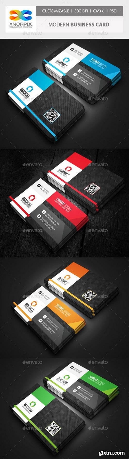 GraphicRiver - Modern Business Card 10282843