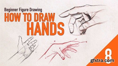 Beginner Figure Drawing - How to Draw Hands