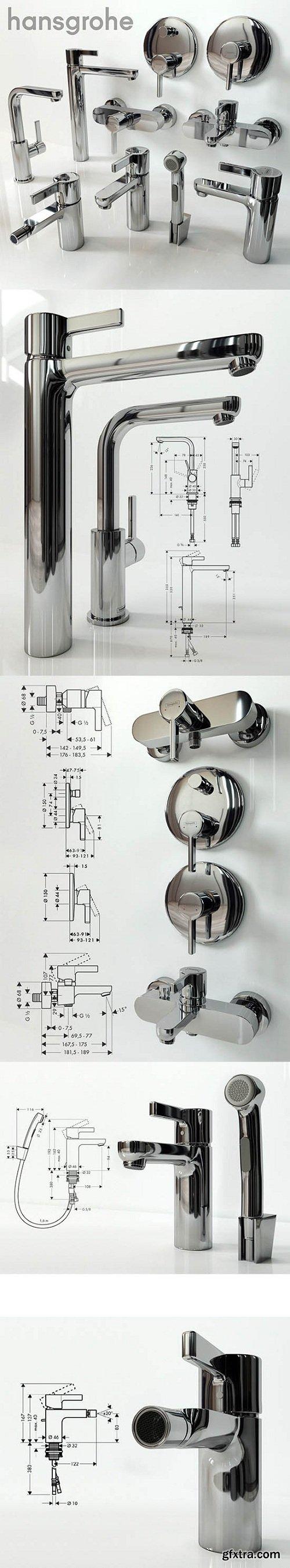 Hansgrohe Metris 3d Model