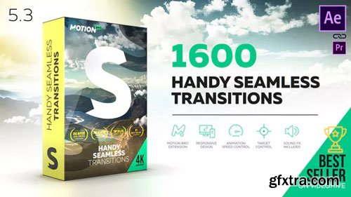 Videohive - Transitions - v5.3 - 18967340 - Crack