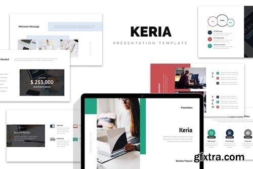 Keria : Business Plan Keynote Template