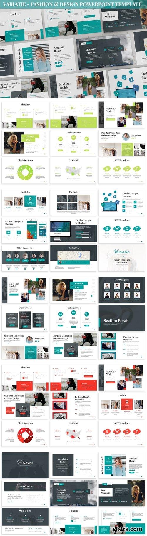 Variatie - Fashion & Design Powerpoint Template