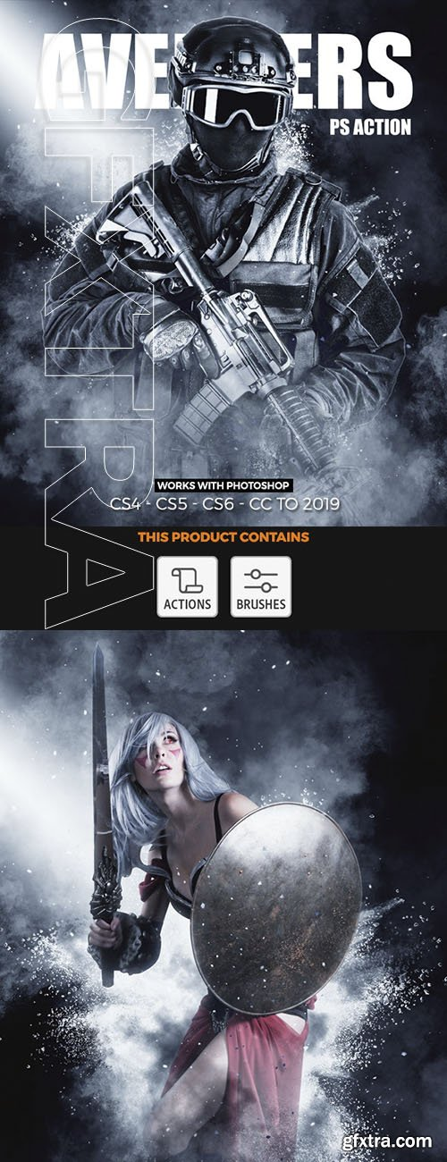 GraphicRiver - Avengers Photoshop Action 23902825