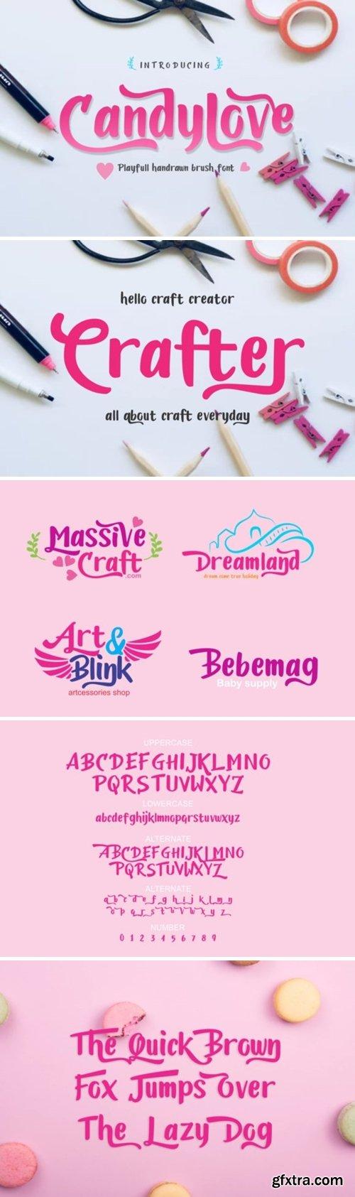 Candylove Font