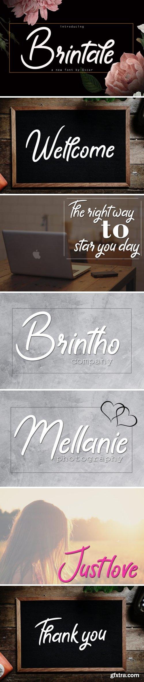 Brintale Font