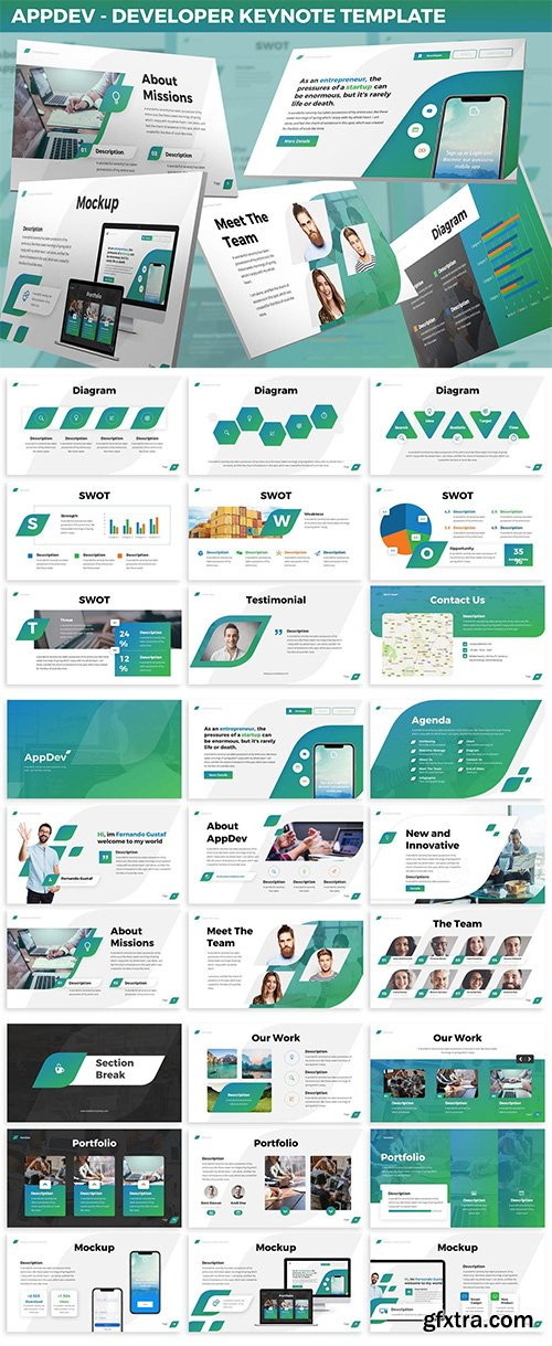 AppDev - Developer Keynote Template