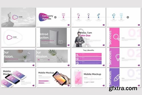 Uniti - Powerpoint Google Slides and Keynote Templates