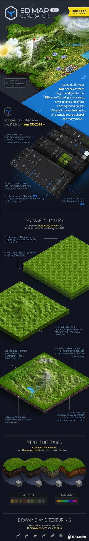GraphicRiver - 3D Map Generator - GEO- V1.5 12451004 - 16 November 18