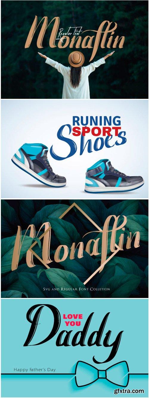 Monaflin Font