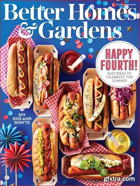 Better Homes & Gardens USA - July 2019