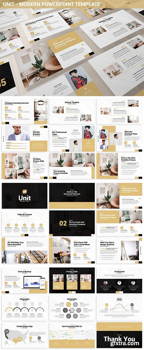 Unit - Modern Powerpoint Template