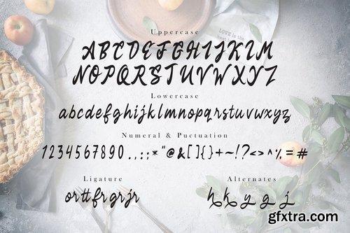 Rekyoto Delicious Script Font