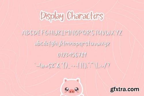 CM - Pig Year 3 Font 3863643