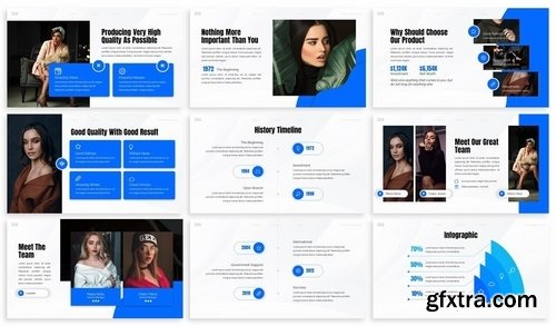 Zeco - Womenpreneur Powerpoint Template