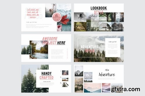 LOOK MY BOOK Multipurpose - Powerpoint Google Slides and Keynote Templates
