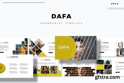 Dafa - Powerpoint Google Slides and Keynote Templates