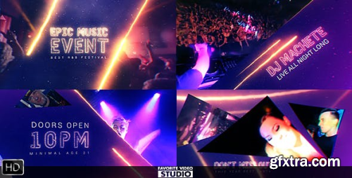 VideoHive Epic Music Event 16029921