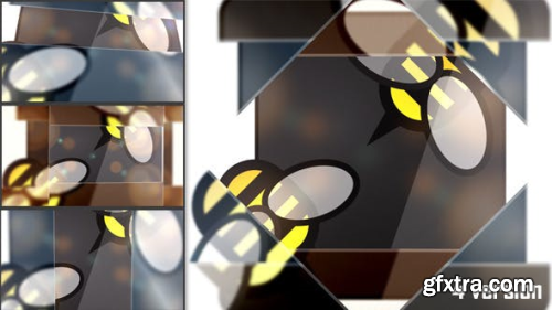 VideoHive Glass Logo Reveal 3689139