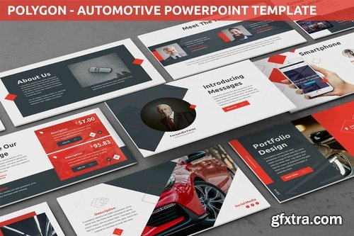 Polygon - Automotive Powerpoint Template
