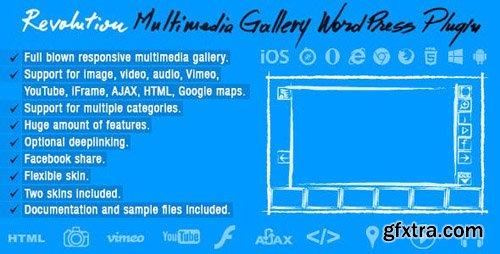 CodeCanyon - Revolution Multimedia Gallery Wordpress Plugin v1.0 - 21525797