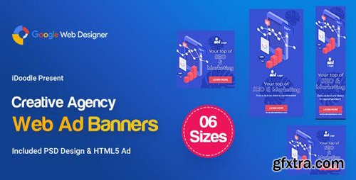CodeCanyon - C63 - Creative, Startup Agency Banners HTML5 Ad - GWD & PSD - 23957042