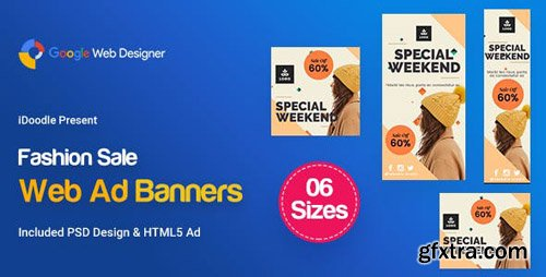 CodeCanyon - C65 - Fashion Sale Banners GWD & PSD - 23957059