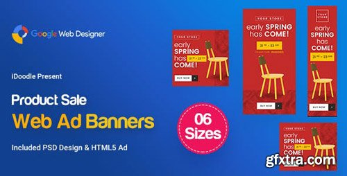 CodeCanyon - C66 - Product Sale Banners GWD & PSD - 23957107