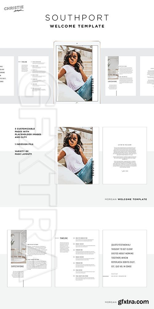 CreativeMarket - Southport Welcome Template 3736930