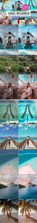 CreativeMarket - Travel Influencer Lightroom Presets 3855810