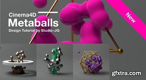 Using Metaballs To Create Abstract Renders In Cinema 4D